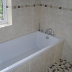 Mosaic Tile Bathroom, Beaconsfield
