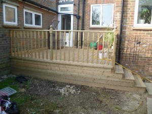 Decking, Berkeley Ave, Chesham 1