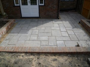 Moss Rose Cottage Flagstone Patio