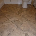 Stone Effect Amtico Vinyl with matching Feature Strip