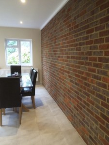 Internal Brick Feature Wall