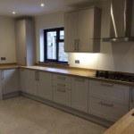 Traditional Shaker Kitchen with Beech Worktops