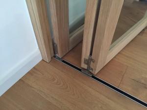Solid Oak Custom Made Bi-fold Doors